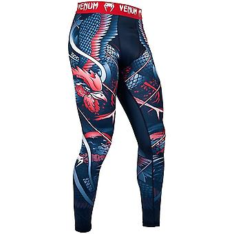 Venum Rooster Spats Blue Red