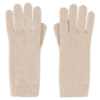 Johnstons of Elgin Short Cuff Gloves - Natural Beige