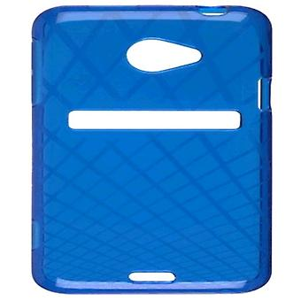 Ventev vaffel Dura-Gel tilfældet for HTC EVO 4G LTE (blå) - 349084