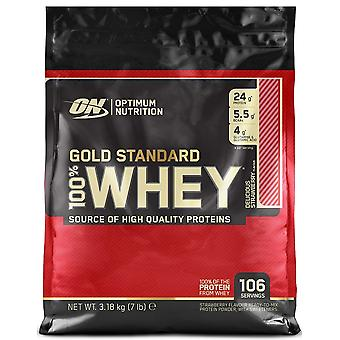 Optimum Nutrition Gold Standard 100% Whey 3180 g  (Sport , Muscle mass , Proteins)
