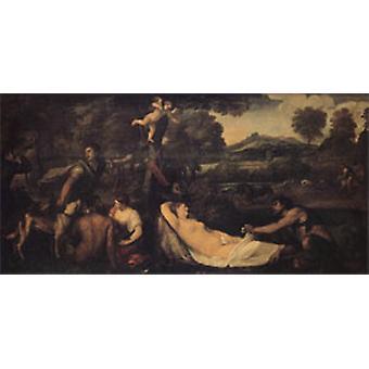 فينوس باردو، تيتيان، 80 × 40 سم