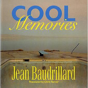 Cool erindringer af Jean Baudrillard - Chris Turner - 9780860915003 bog