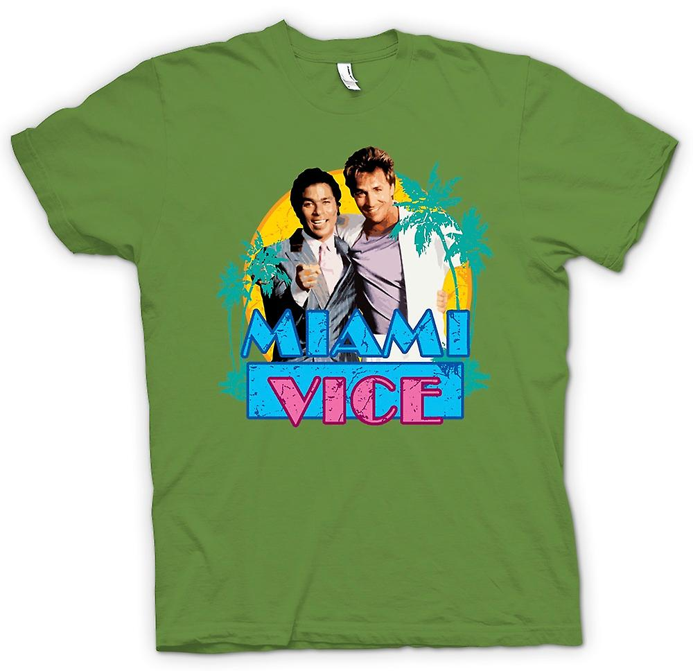 Tubbs e Mens t-shirt - Miami Vice - Crockett