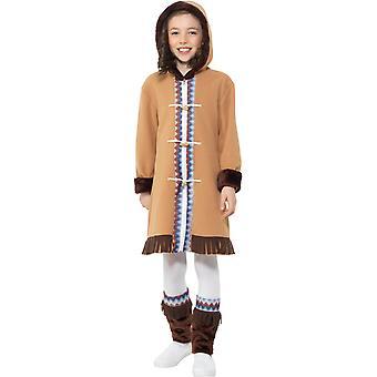Inuit Eskimo girl child costume Carnival Arctic girl costume