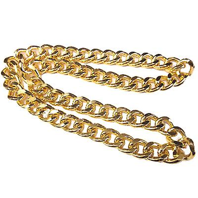 Gold Plated XL Miami Cuban Chain 20mm x 34 inches - Hollow Links - High Quality
