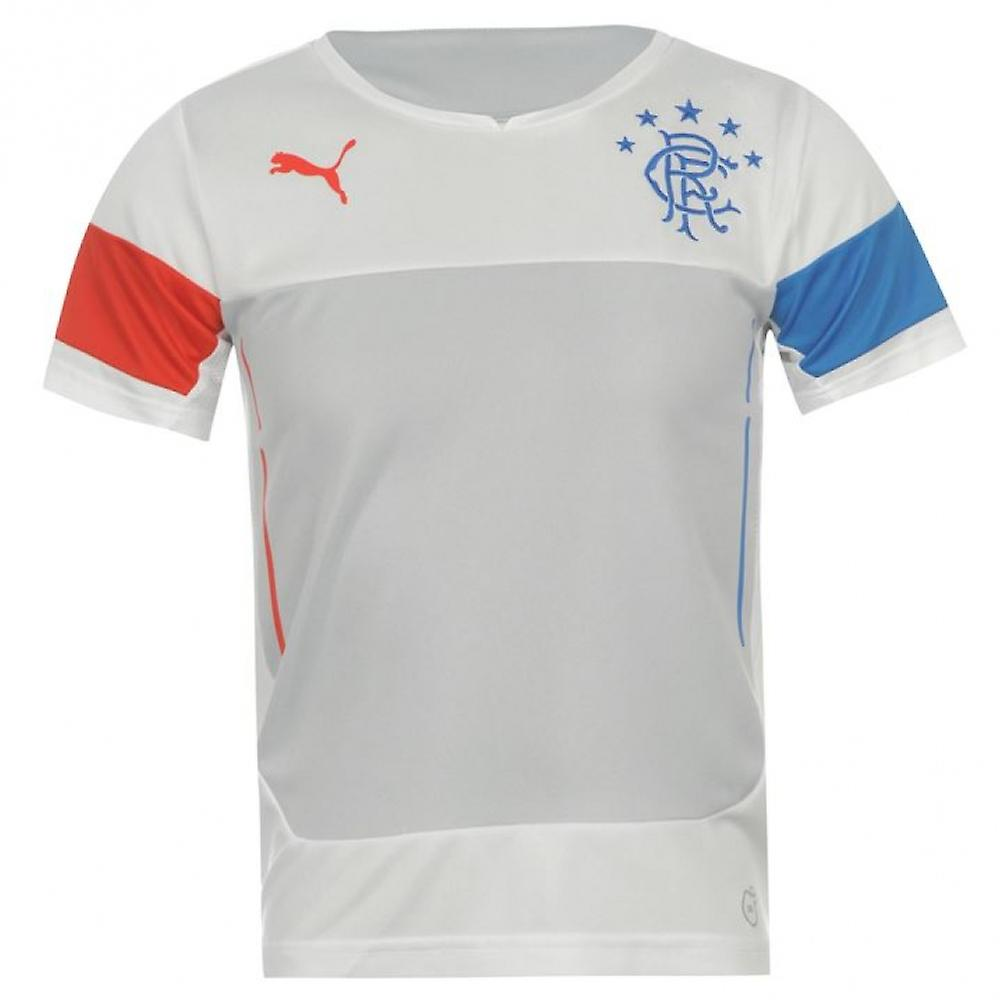 2014-2015 rangers Puma Training Shirt (wit) - Kids