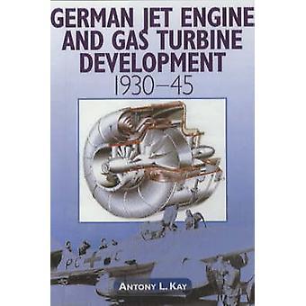 Motor a jato alemão e o desenvolvimento de turbinas a gás 1930-1945 por Anthony L.
