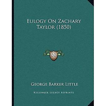 Eulogy on Zachary Taylor (1850)