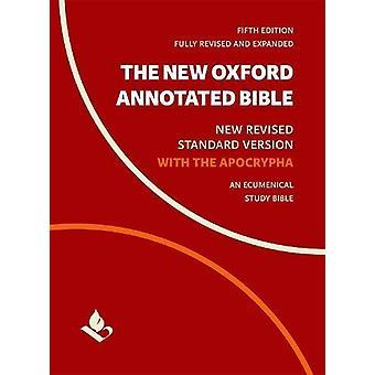 A nova Bíblia anotada Oxford com apócrifos - novo revisado padrão V