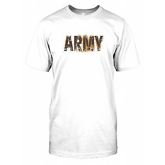 Army - Armed Forces Covered in Mud Mens T Shirt