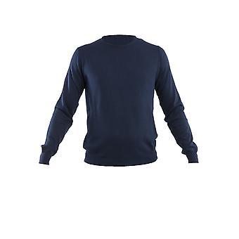Corneliani Blue Cotton Sweater