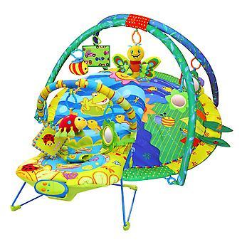 LaDiDa Baby Gym i Opiekunka do dziecka piękny pakiet ogród oferta