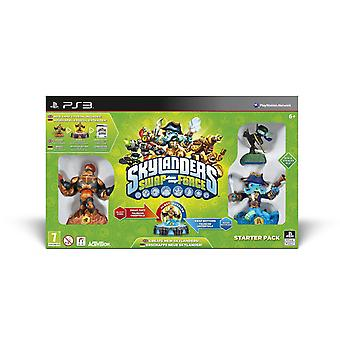Skylanders Swap Force Playstation 3 Starter Pack Includes Blast Zone, Ninja Stealth Elf & Wash Buckler