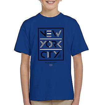 Divide & Conquer New York City Dry Goods Kid's T-Shirt
