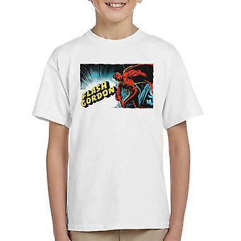 Flash Gordon Action Pose Kid's T-Shirt