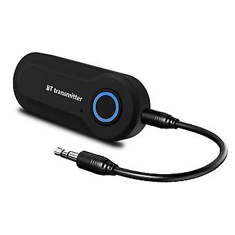 Transmisor de audio Bluetooth adaptador de audio inalámbrico transmisor de flujo de música estéreo para tv pc mp3 reproductor dvd