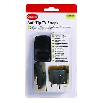 Clippasafe Anti-Tilt Strips Tv (Babies and Children , Walk)