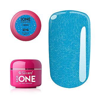 Base one Neon-Clear sky 5 g UV-gel