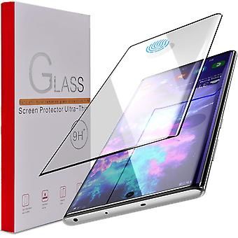 Tempered Glass protection Samsung Note 10 Full Fit, Fingerprint