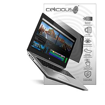 Celicious Privacy Lite 2-Way Anti-Glare Anti-Spy Filter Screen Protector Film Compatible with HP Zbook 17 G5 (Touch)