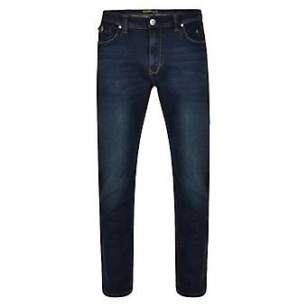 Kam Jeanswear Vincent Dark Wash Tall Fit Jeans