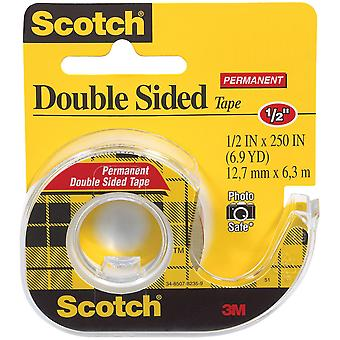 Scotch Permanent Double Sided Tape .5X250