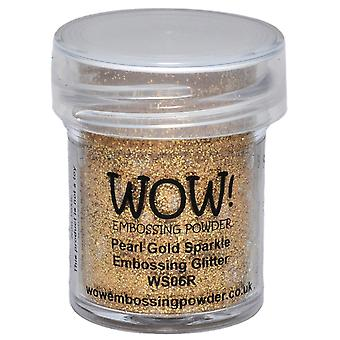 Wow! Embossing Powder 15Ml Pearl Gold Sparkle Wow Ws06r
