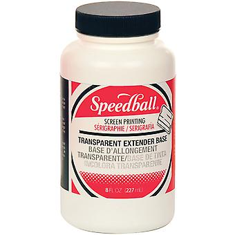 Speedball Transparent Extender Base 8 Ounces Sb4532