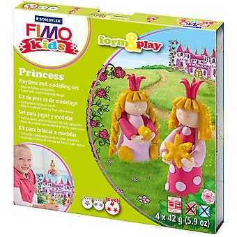 Fimo Kids Form & Play Set Princess 8034Lz 6