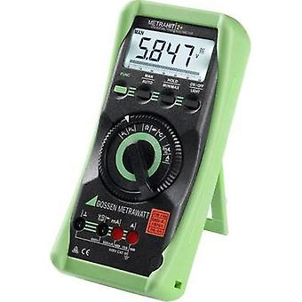 Handheld multimeter digital Gossen Metrawatt Metrahit 2+ Calibrated to: DAkkS standards CAT III 600 V Display (counts):