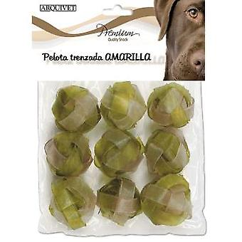 Arquivet Plait Ball 5Cm. 20Gr. 9Pcs. Amarilla (Dogs , Treats , Bones)