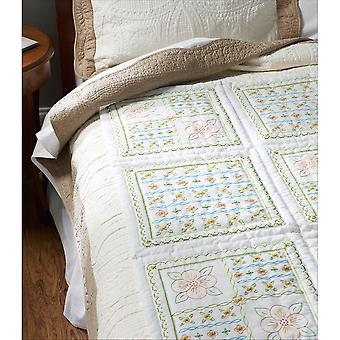 Stamped Embroidery Quilt Blocks 15
