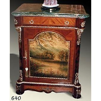 Baroque COMMODE with painting, antique style painting, image MoPa0640