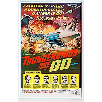 Thunderbirds son película vaya cartel Masterprinter