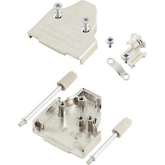D-SUB housing Number of pins: 15 Metal 45 ° Silver MH Connectors MHDM35-15-K 1 pc(s)