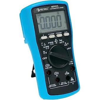 Handheld multimeter digital Metrel MD 9035 Calibrated to: Manufacturer's standards (no certificate) Vehicle testing CAT