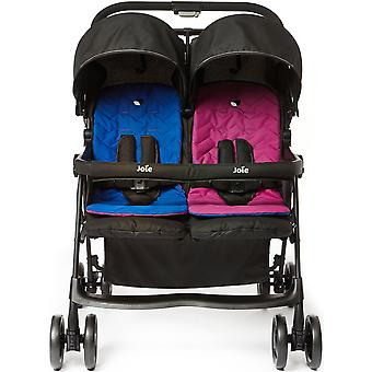 Joie Aire Twin Stroller - Pink/Blue
