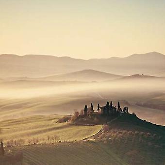 Tuscan Sunrise Poster Print by Margaret Morrissey