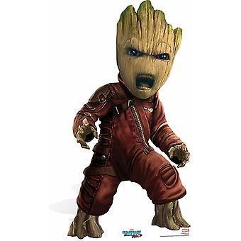 Baby Groot vogtere af Galaxy Vol 2 Mini pap påklædningsdukke / Standee / står
