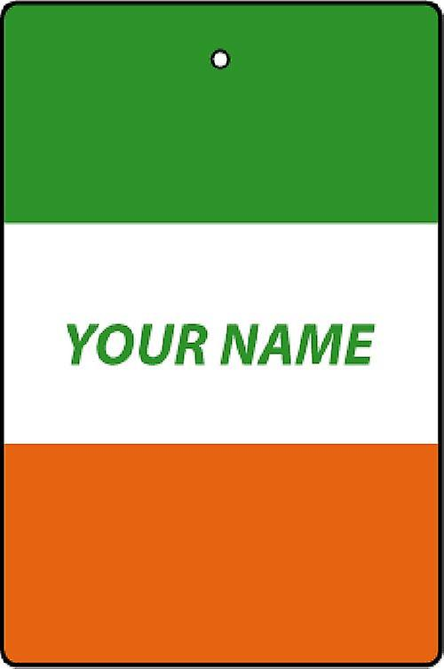 Ireland Flag Personalised Car Air Freshener