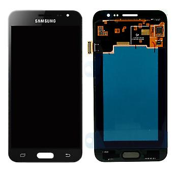 Display LCD complete set GH97-18414 C Black for Samsung Galaxy J3 J320F 2016