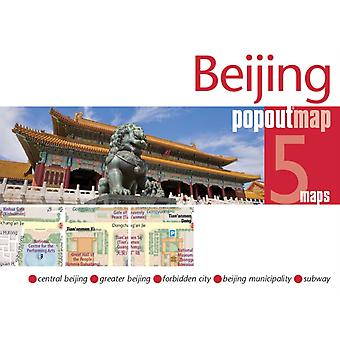 Beijing PopOut Map (Footprint PopOut Maps) (Map)