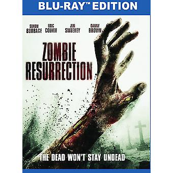 Zombie Resurrection [Blu-ray] USA import