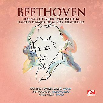L.V. Beethoven - Beethoven: Trio No. 5 for Violin, Violoncello & Piano in D Major, Op. 70 No. 1 'Geister Trio' [CD] USA import