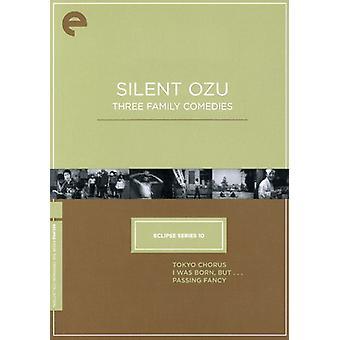 Ozu silencioso - importación de Estados Unidos tres familia [DVD]
