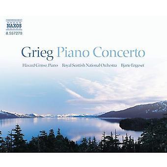 E. Grieg - Grieg: Concerto pour Piano; Importer des danses symphoniques [CD] é.-u.