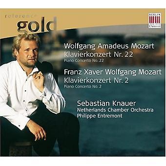 W.a. Mozart - Wolfgang Amadeus Mozart: Episodio Nr. 22; Franz Xaver Wolfgang Mozart: Episodio Nr. 2 [CD] USA importazione