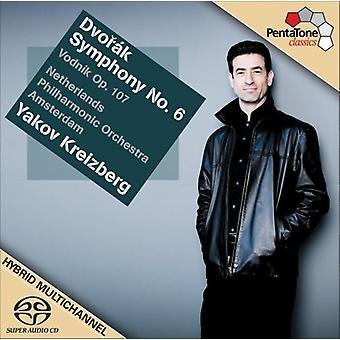 A. Dvorak - Dvor K: Sinfonía n º 6; Vodnik, importación USA Op. 107 [CD]