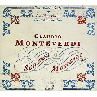 Claudio Monteverdi - Monteverdi: Scherzi Musicali [CD] USA import