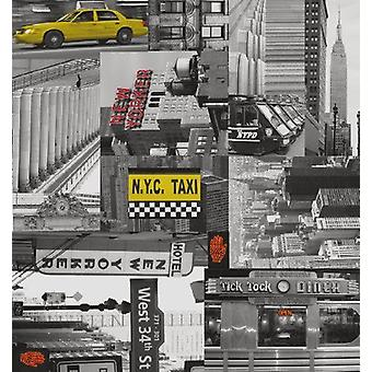New York City Sticky Back Plastic Arts Crafts Fablon Vinyl Durable Self Adhesive